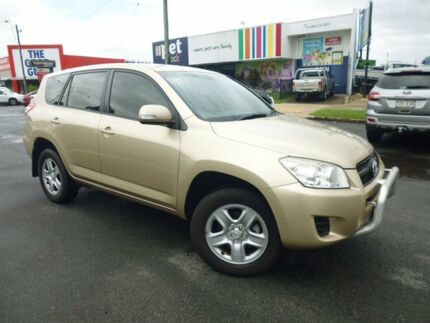 2010 Toyota RAV4 ACA33R MY09 CV Gold 5 Speed Manual Wagon Bungalow Cairns City Preview