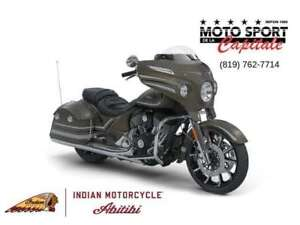 2018 Indian Motorcycles Chieftain Limited Bronze Smoke Graphics