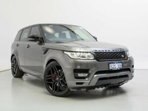 2014 Land Rover Range Rover LW Sport 3.0 TDV6 SE Grey 8 Speed Automatic Wagon