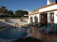 Beautiful villa available for holiday rentals