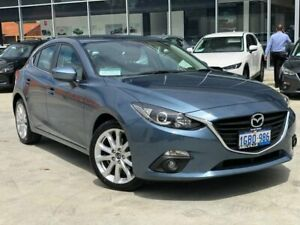 2016 Mazda 3 BM5438 SP25 SKYACTIV-Drive Blue 6 Speed Sports Automatic Hatchback Palmyra Melville Area Preview