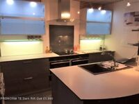 Ex Display Pronorm German Kitchen, including LED lights, Siemens appliances and Blanco sink and taps
