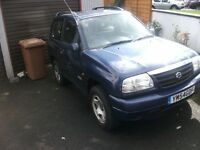 2004 SUZUKI GRAND VITARA 4X4 JEEP 4WD LONG MOT BRAND NEW TYRES BETTER THAN ANY QUAD AT THIS PRICE