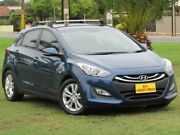 2014 Hyundai i30 GD2 MY14 SE Blue 6 Speed Sports Automatic Hatchback Hendon Charles Sturt Area Preview