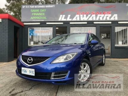 2008 Mazda 6 GH1051 Limited Blue Manual Sedan Barrack Heights Shellharbour Area Preview