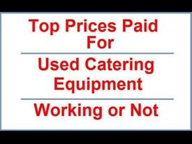 We buy used catering equipment & clear all types of commercial premises.