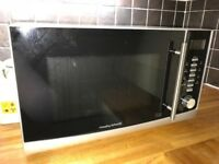 Morphy Richards Microwave 25L in silver for sale
