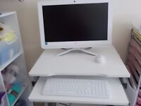 """HP 19.5"""" all in one computer 4 GB 1 T"""