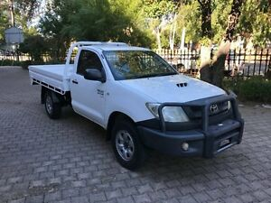 2008 Toyota Hilux KUN26R 07 Upgrade SR (4x4) 5 Speed Manual Cab Chassis Kent Town Norwood Area Preview