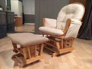 Glider Chair & Foot Stool