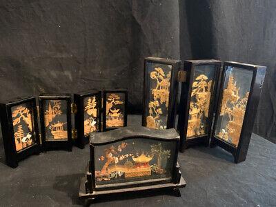 Set of 3 Cork Dioramas