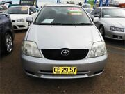 2003 Toyota Corolla ZZE122R Ascent Silver 5 Speed Manual Hatchback Minchinbury Blacktown Area Preview