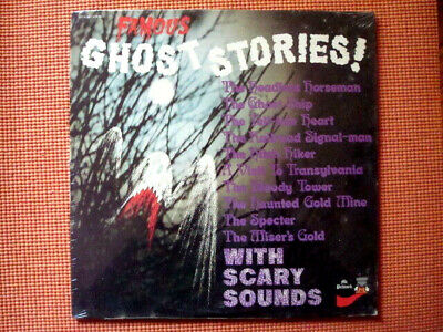 FAMOUS GHOST STORIES HALLOWEEN RECORD LP  NEW - Famous Halloween Stories