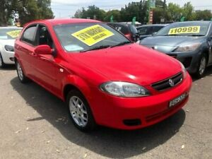 2008 Holden Viva JF MY08 Red 4 Speed Automatic Hatchback