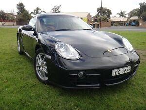 2008 Porsche Cayman 987 Black 5 Speed Manual Coupe Albert Park Charles Sturt Area Preview