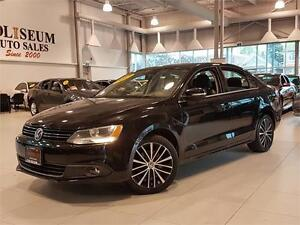 2013 Volkswagen Jetta 2.5L HIGHLINE-AUTO-LEATHER-ROOF-86KMS