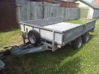 Ifor Williams box trailer dropside