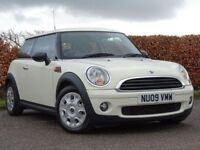 MINI HATCH ONE 1.4 ONE 3d (white) 2009