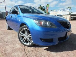 2005 Mazda 3 BK10F1 Neo Blue 5 Speed Manual Hatchback Rosslea Townsville City Preview
