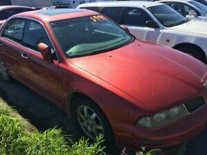 2001 Mitsubishi Verada KJ XI Bronze 4 Speed Auto Active Sequential Sedan