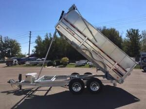 "NEW 2019 K-TRAIL 80"" x 14' HIGH SIDE DUMP TRAILER"