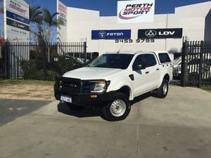 2012 Ford Ranger PX XL 3.2 (4x4) White 6 Speed Manual Dual Cab Chassis Beckenham Gosnells Area Preview