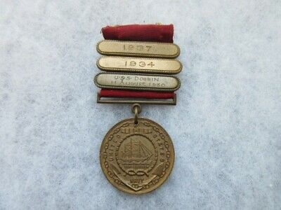 Navy Good Conduct Medal w/ Bars and Other Award