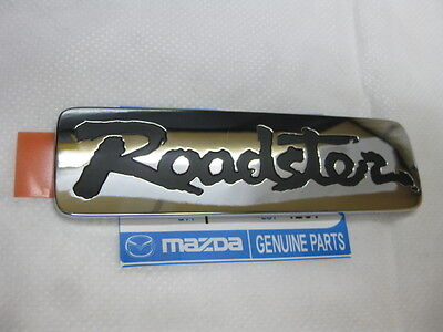 Mazda Miata Roadster Emblem/Badge Logo `` BLACK`` MX-5 MX5 NB NC Genuine JDM