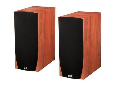 Polk Audio Monitor 45B CHERRY Bookshelf Speakers  NEW PAIR