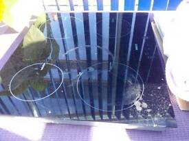 BEKO induction hob. Cracked glass REDUCED £10