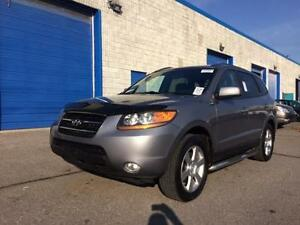 2008 HYUNDAI SANTA FE LIMITED AWD, SUNROOF, LEATHER/HEATED SEATS