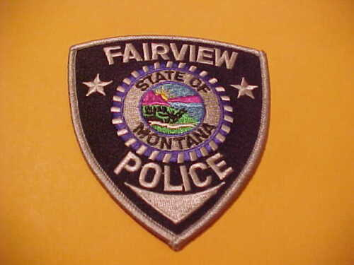 FAIRVIEW MONTANA POLICE PATCH SHOULDER SIZE NEW