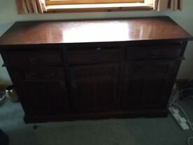 Old Charm - Solid Oak Sideboard