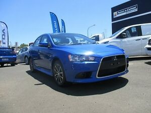 2015 Mitsubishi Lancer CJ MY15 ES Sport Blue 6 Speed Constant Variable Sedan Toowoomba Toowoomba City Preview