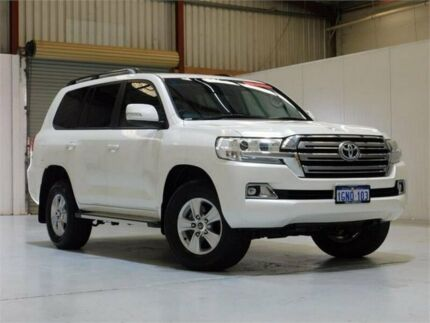 2018 Toyota Landcruiser VDJ200R GXL White 6 Speed Sports Automatic Wagon Bibra Lake Cockburn Area Preview