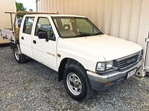 1996 Holden Rodeo TF G6 LX White Manual Utility Gaven Gold Coast City Preview