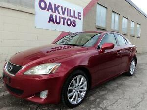 2006 Lexus IS 250 ULTRA NAVIGATION AWD AUTO SHADE SAFETY INCL