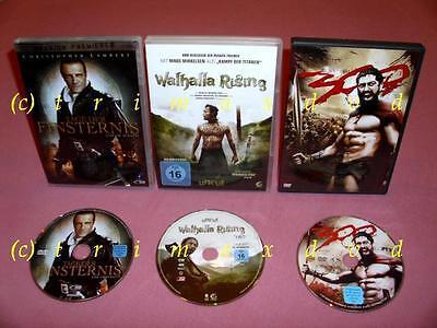 3 DVD's _ 300 & Walhalla Rising & Tage der Finsternis _ Noch mehr Filme im SHOP