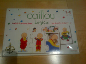 Caillou - logico game - 3 to 5 years