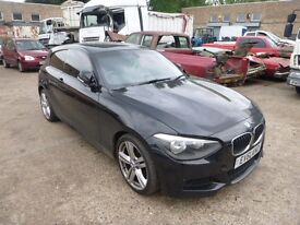 BMW 116D M-SPORT 1995cc - LY13ABX - DIRECT FROM INS CO