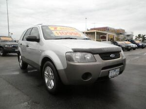 2007 Ford Territory SY TX AWD Silver & Grey 6 Speed Sports Automatic Wagon Heatherton Kingston Area Preview
