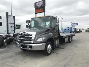 NEW 2019 Hino 258 with 21ft Century LCG Carrier Deck & Wheellift