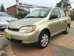 2002 Toyota Echo NCP12R Gold 4 Speed Automatic Sedan South Nowra Nowra-Bomaderry Preview