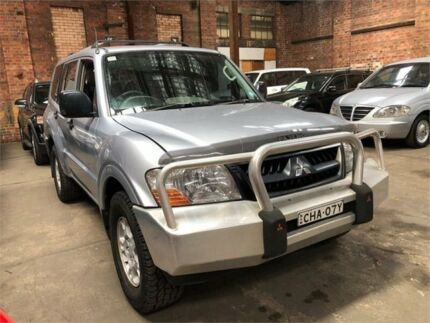 2004 Mitsubishi Pajero NP MY04 GLX Silver Sports Automatic Wagon Hamilton North Newcastle Area Preview