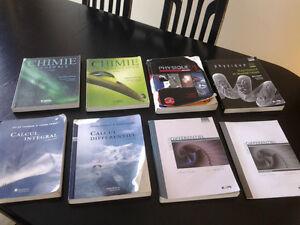 Livres - sciences de la nature
