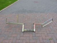 Dave Cooper Trials/Motocross Tow Bar mounted Rack
