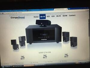Granger and Bessel home theatre surround system  GB-19