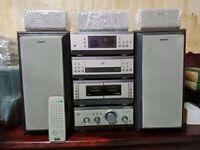 Sony MHC S9D DVD/HI-FI Cinema Surround Sound + Sony MDS S9 Programmable Mini Disc Player/ Recorder