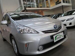 2012 Toyota Prius v ZVW40R I-Tech Silver 1 Speed Constant Variable Wagon Essendon Moonee Valley Preview