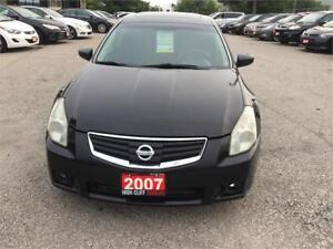 2007  Nissan Maxima 3.5L Leather Sunroof Alloy Wheels Certified